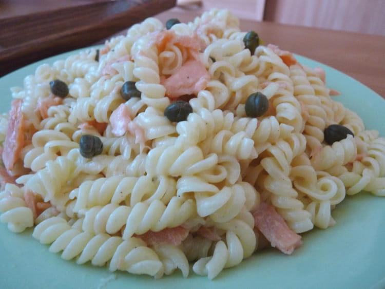 recette de p 226 tes au saumon fum 233 sauce parmesan la recette facile