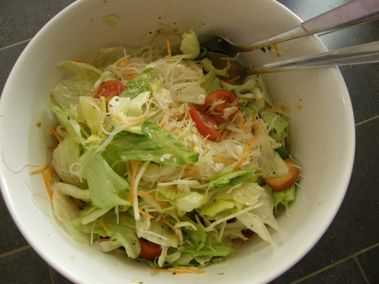 Salade fra cheur originale la recette facile for Entree crudite originale