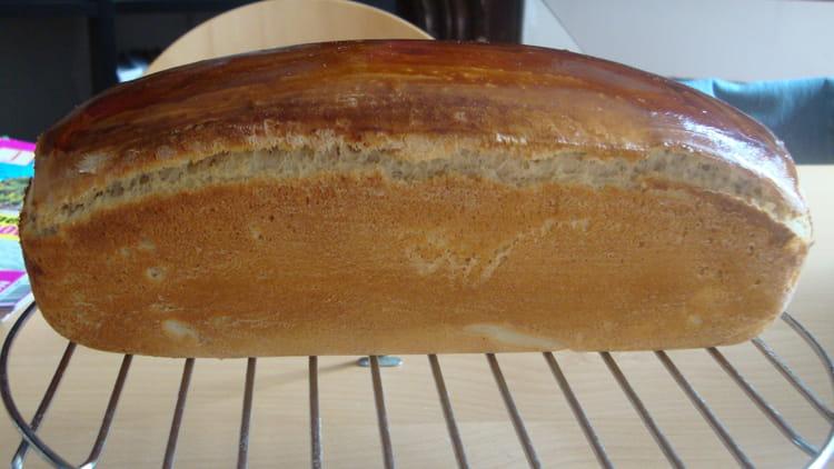 Recette de pain de mie la machine pain la recette facile - Machine a pain boulanger ...
