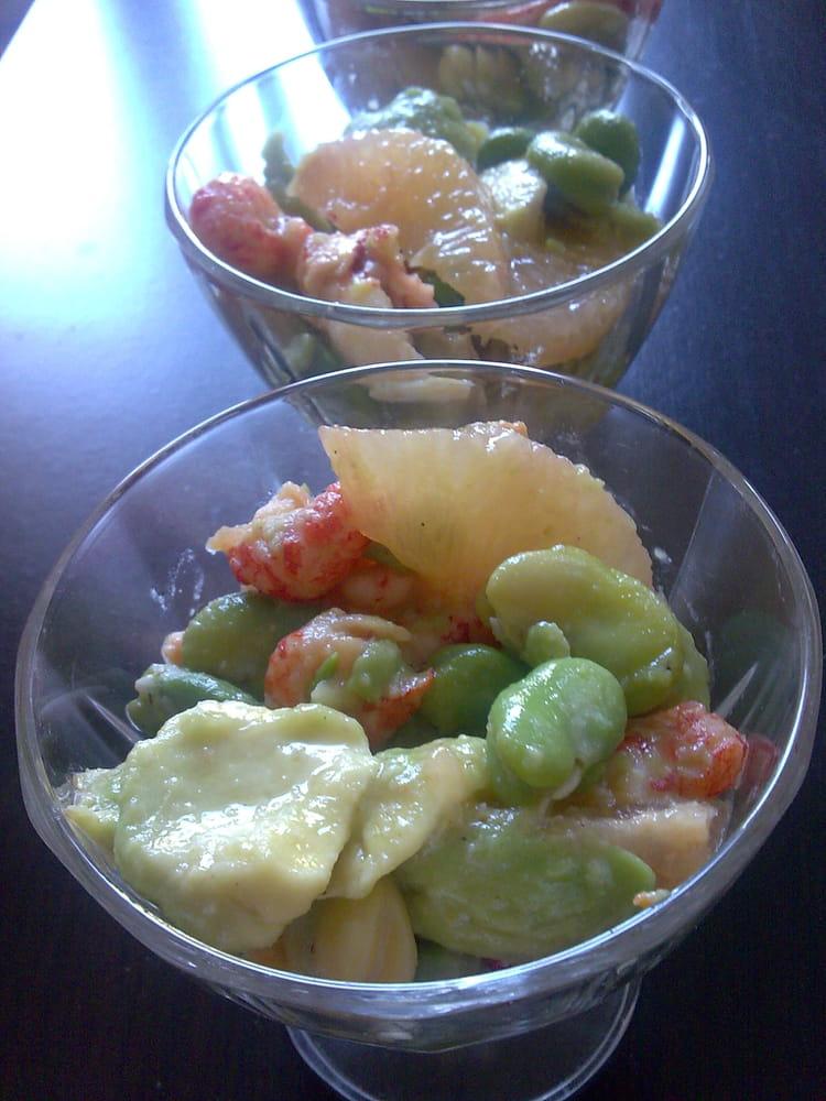 Salade de f ves rafra chissante la recette facile - Cuisiner feves fraiches ...