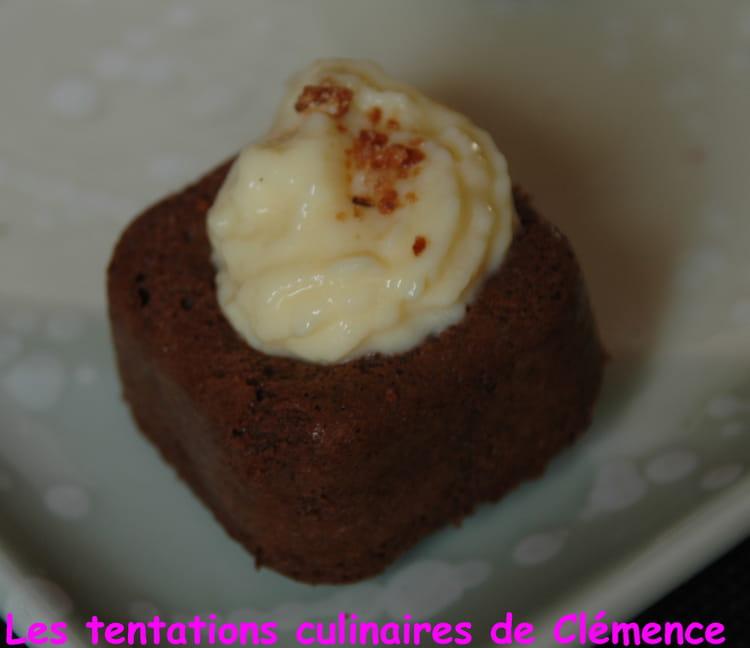Recette de bouch es chocolat noisette et leur cr me p tissi re la recette facile - Creme patissiere chocolat blanc ...