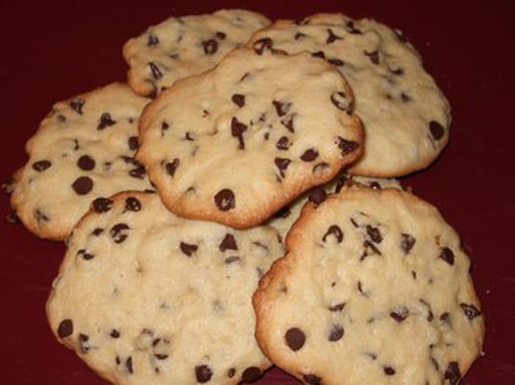 recette de cookies maison aux p pites de chocolat la. Black Bedroom Furniture Sets. Home Design Ideas