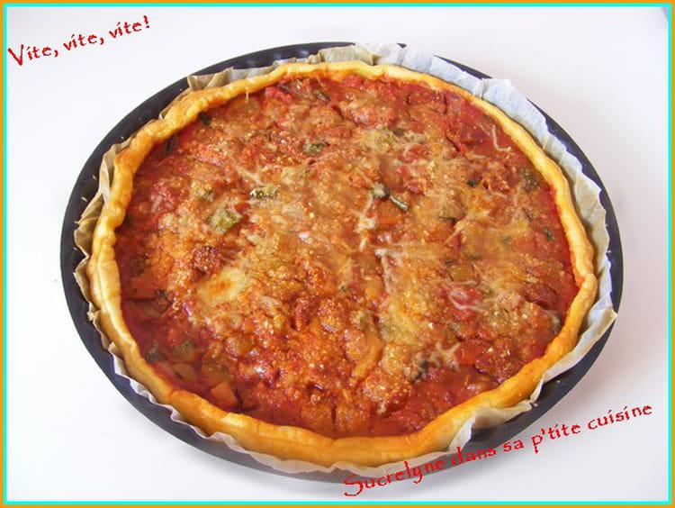Recette de tarte 5 minutes chrono la recette facile - Cuisine tv recettes minutes chrono ...