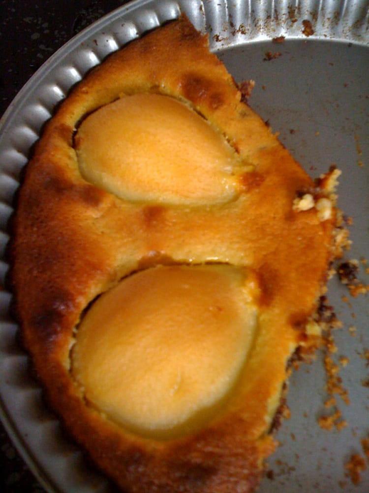recette de tarte poire chocolat sans p 226 te la recette facile