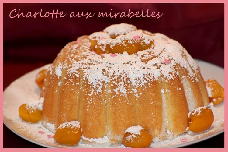 Recette de charlotte aux mirabelles la recette facile - Recette avec des mirabelles ...
