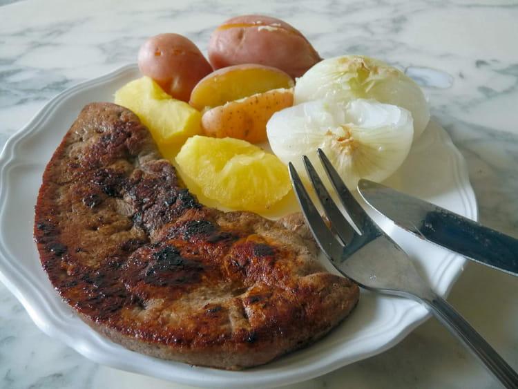 Recette de foie de veau la berlinoise light la recette facile - Cuisiner le foie de veau ...