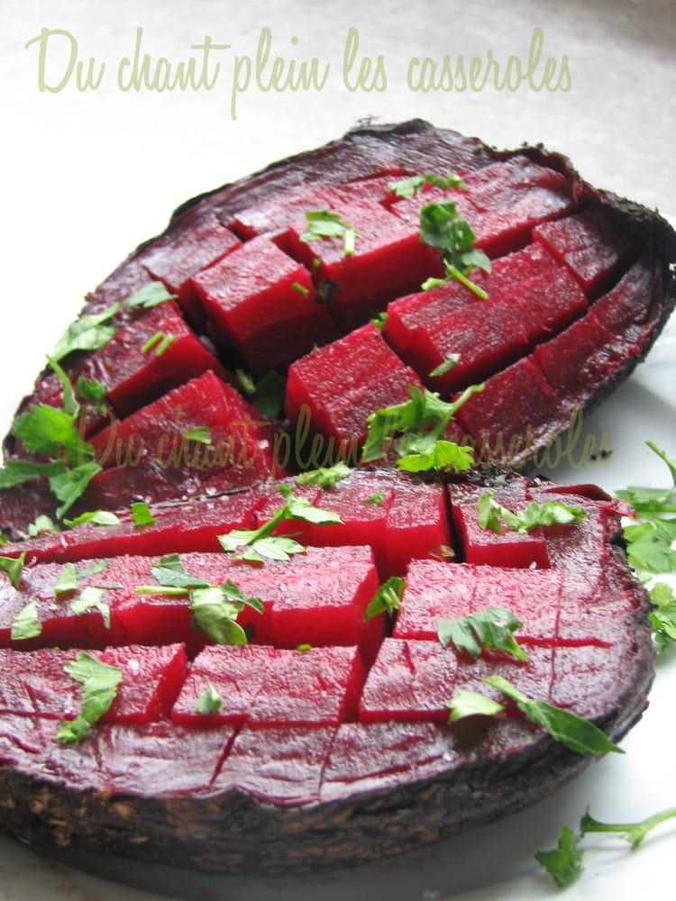 Recette de betteraves cuites au four la recette facile - Cuisiner les betteraves ...