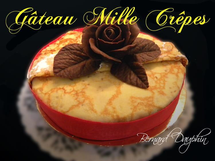 Gâteau mille crêpes : la recette facile