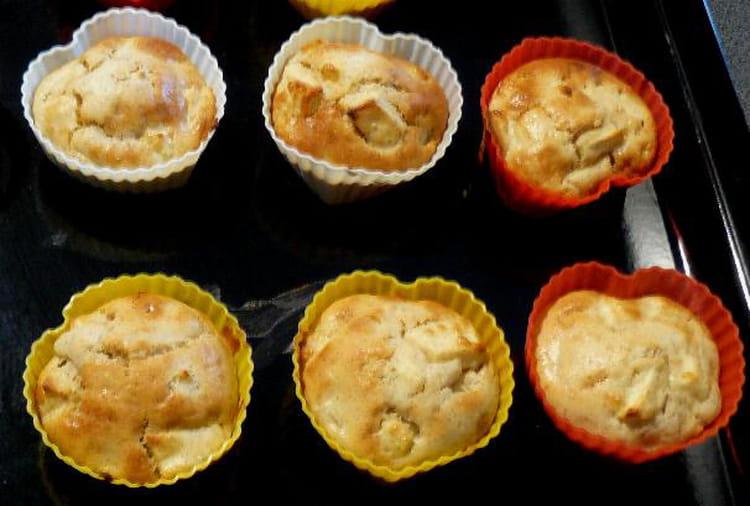 recette de muffins aux pommes la recette facile. Black Bedroom Furniture Sets. Home Design Ideas