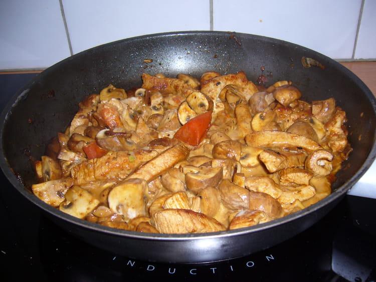 Recette eminc de dinde au paprika la recette facile - Cuisiner escalopes de dinde ...