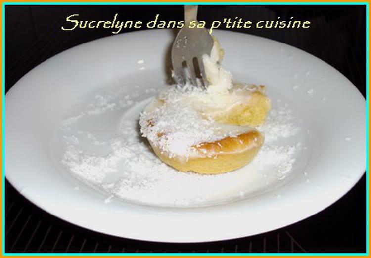 Panna cotta au citron façon tartelette