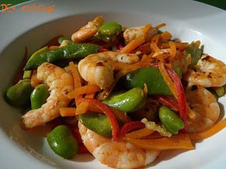 Attractive Petit Plat Facile A Cuisiner #6: Crevettes-sautees-au-paprika-et-legumes-printaniers.jpg