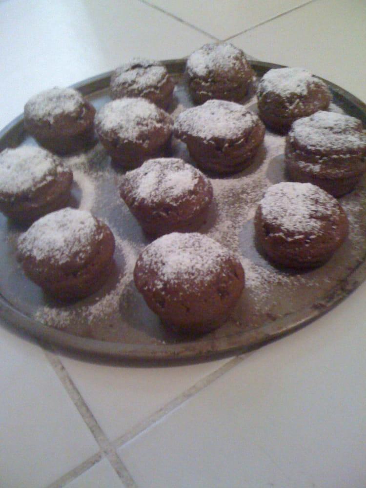 recette de mini moelleux au nutella la recette facile. Black Bedroom Furniture Sets. Home Design Ideas