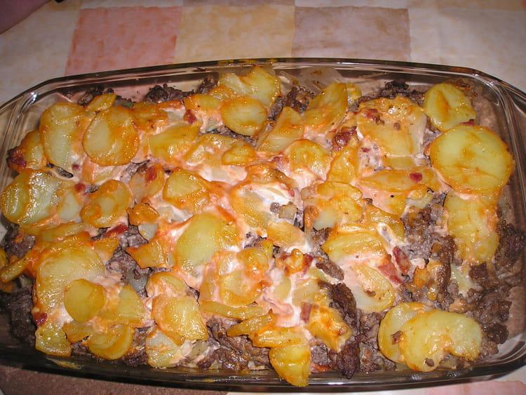 recette de gratin de boeuf et pommes de terre la recette facile. Black Bedroom Furniture Sets. Home Design Ideas