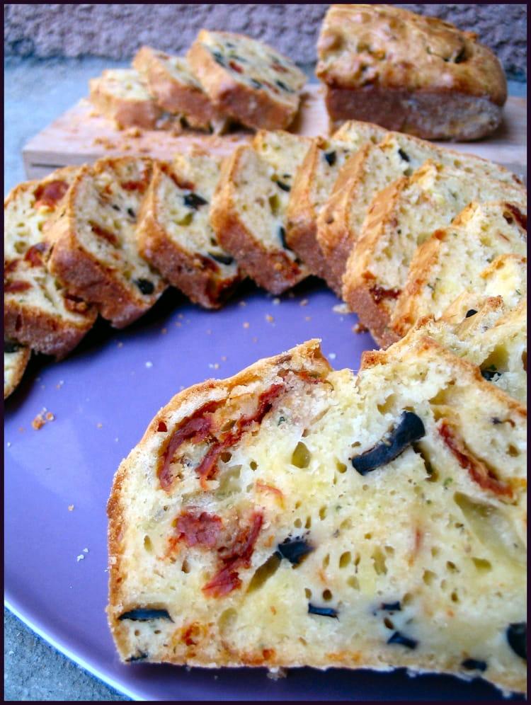 cake leger aux tomates sechees et parmesan