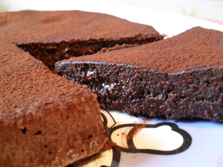 recette de fondant au chocolat noir la recette facile. Black Bedroom Furniture Sets. Home Design Ideas