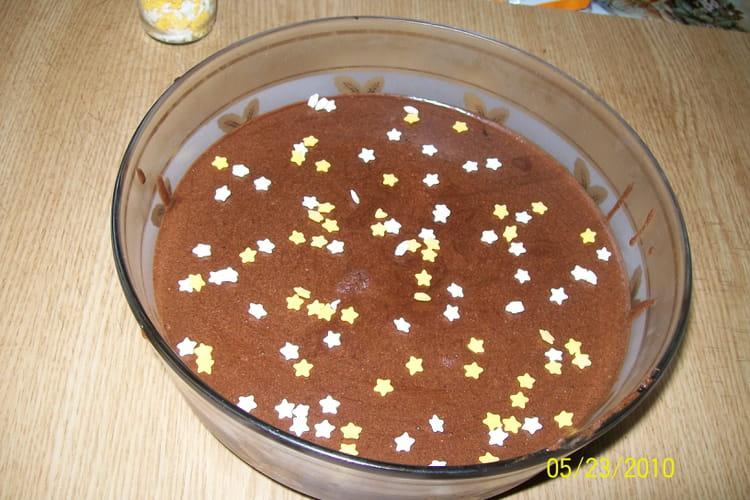 Recette de mousse au chocolat et la cr me fra che la - Mousse au chocolat a la creme ...