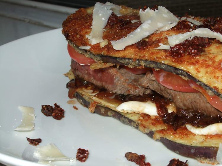 recette de hamburger d 39 aubergine au confit d 39 oignon la recette facile. Black Bedroom Furniture Sets. Home Design Ideas