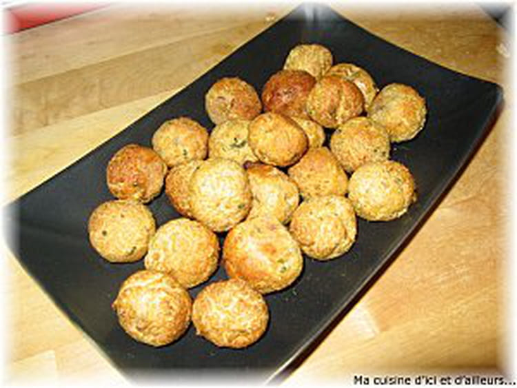 Bouch es ap ritives au thon et persil la recette facile - Cuisiner du thon en boite ...