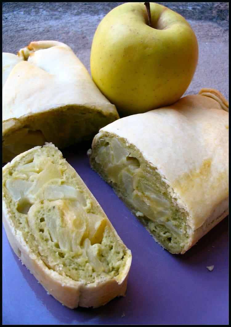 Recette de Lingot aux pommes et thé vert : la recette facile