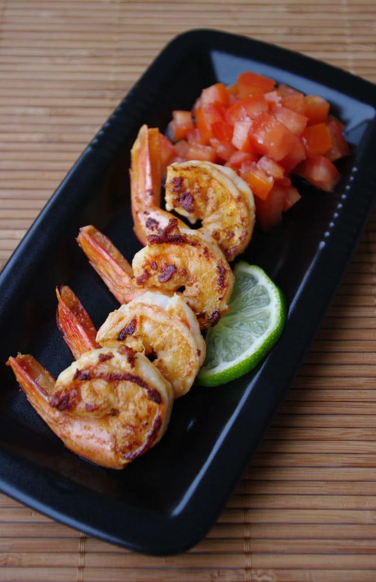 recette de crevettes marin es au citron vert et gingembre la recette facile. Black Bedroom Furniture Sets. Home Design Ideas