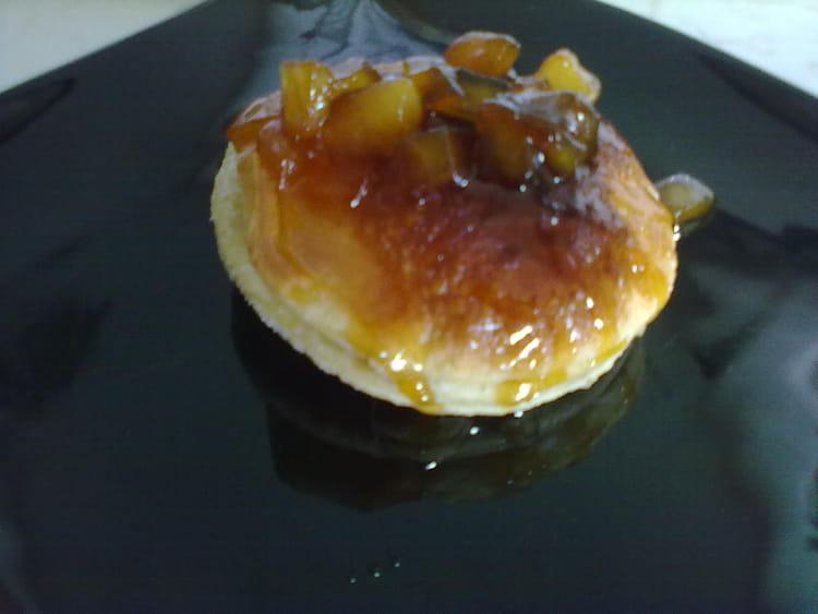 Recette de feuillet aux pommes caram lis es la recette facile - Feuillete aux pommes caramelisees ...