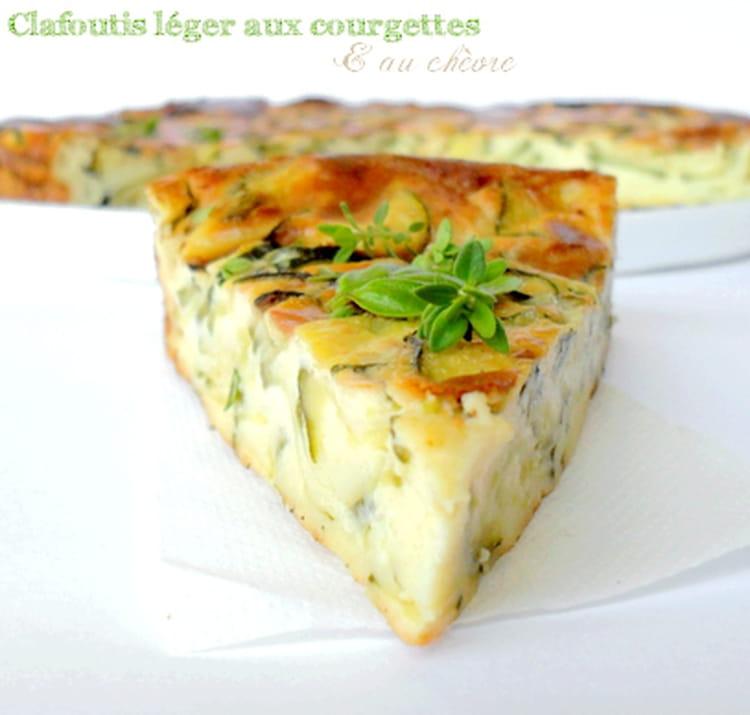 Recette Cake Courgettes Chevre Frais