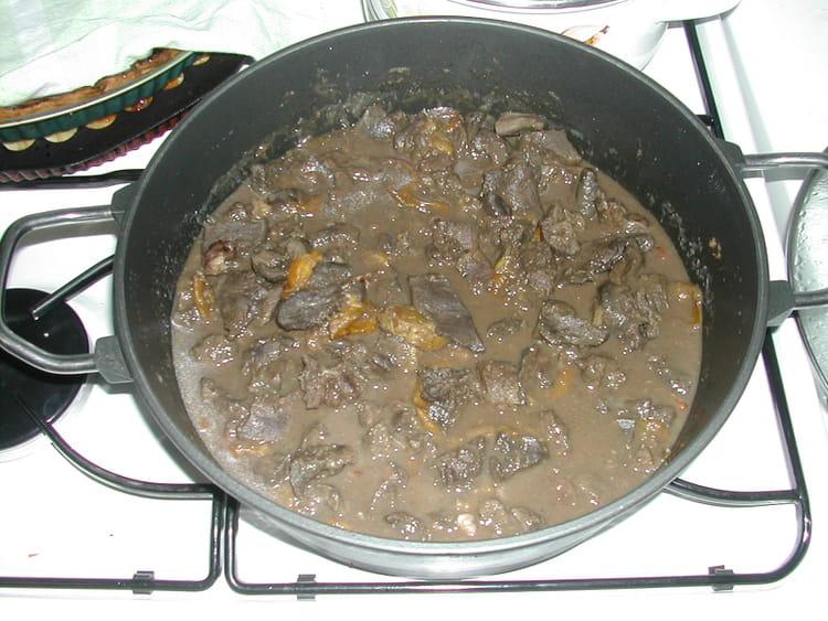 Recette estoufade de chevreuil aux mirabelles la recette facile - Cuisiner epaule de chevreuil ...