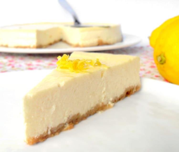 recette de cheesecake au citron la recette facile. Black Bedroom Furniture Sets. Home Design Ideas