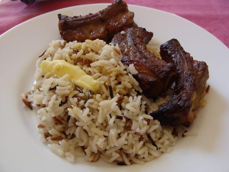 Travers de porc marin s au four la recette facile - Cuisiner travers de porc ...