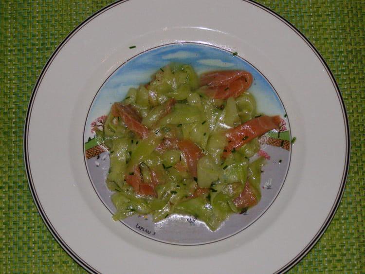 recette de salade de concombre et saumon la recette facile. Black Bedroom Furniture Sets. Home Design Ideas