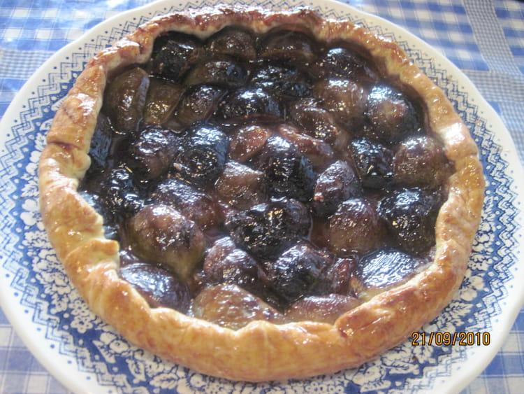 recette tarte aux figues tarte dessert