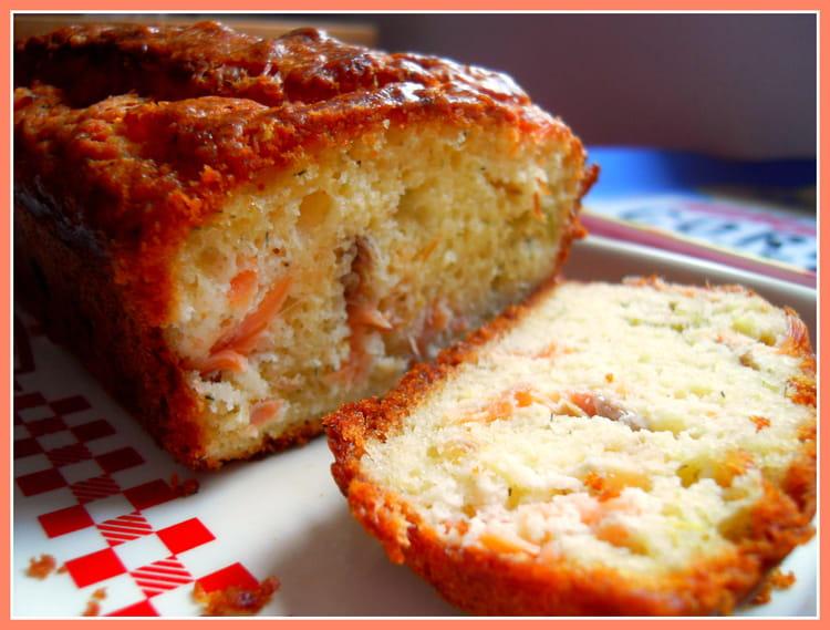 recette de cake citronn au saumon fum la recette facile. Black Bedroom Furniture Sets. Home Design Ideas