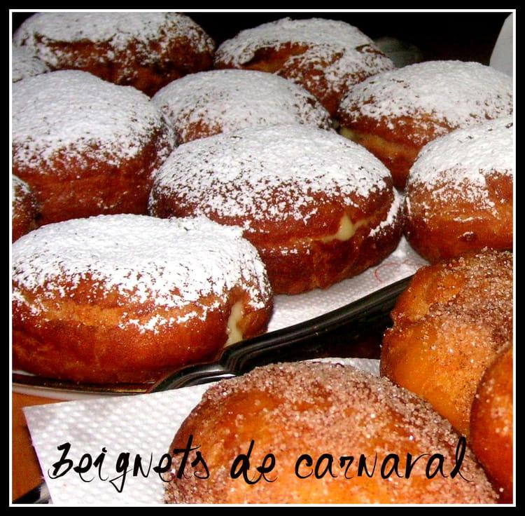 Recette de beignets de carnaval inratables la recette facile - Recette beignet facile avec levure de boulanger ...