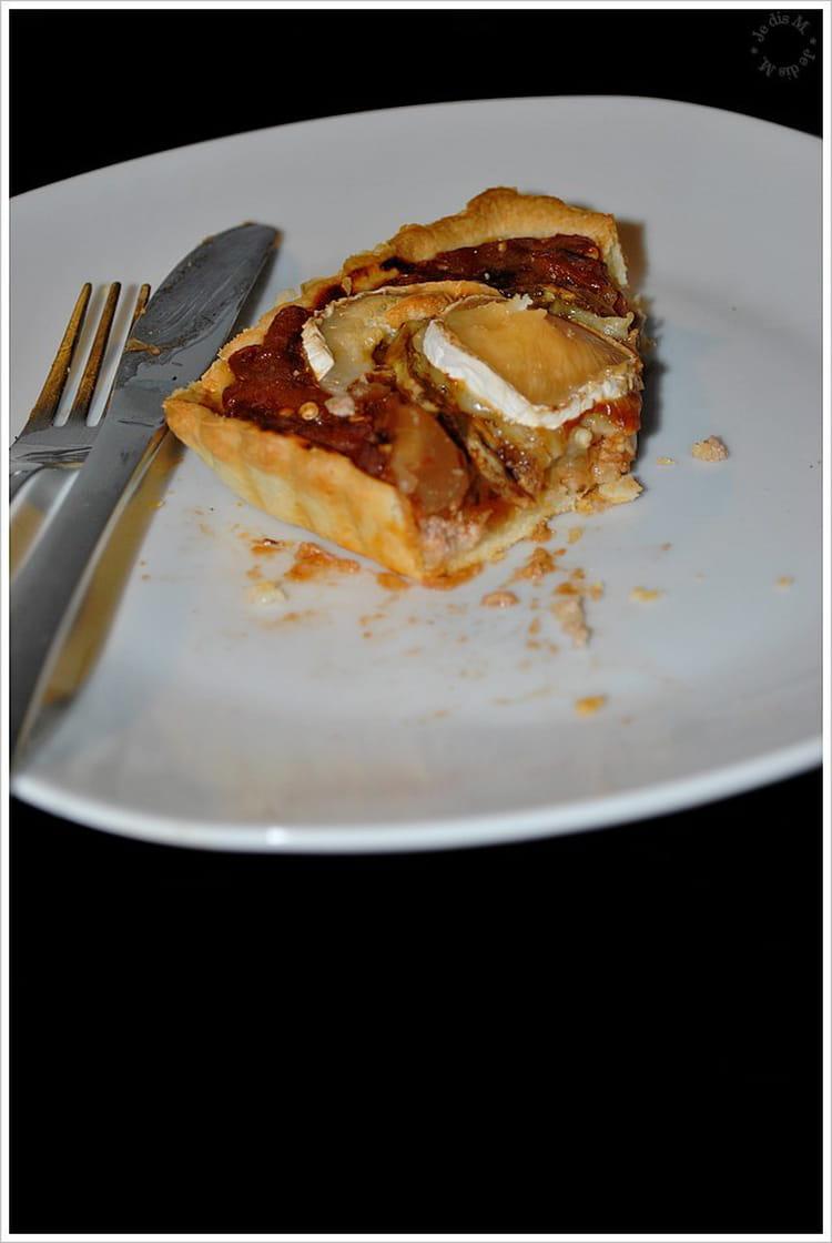 Recette de tarte l 39 aubergine ch vre et thon la - Cuisiner l aubergine facile ...
