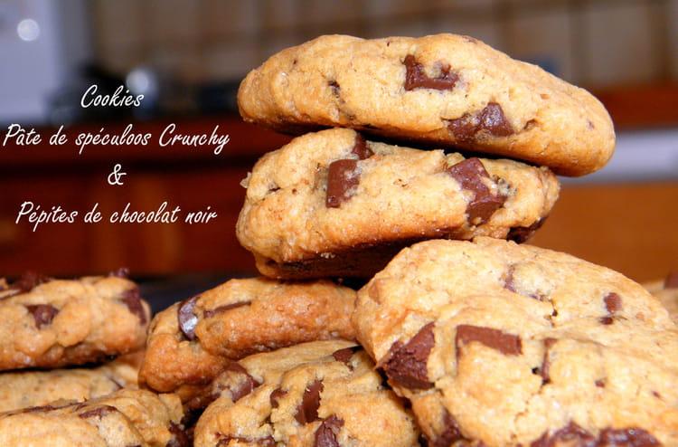 recette de cookies chocolat crunchy la recette facile. Black Bedroom Furniture Sets. Home Design Ideas