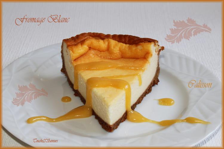 Recette de Gâteau au fromage blanc et crème de calisson : la recette ...