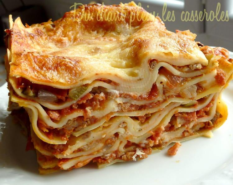 recette de lasagnes gratin es la scamorza la recette facile. Black Bedroom Furniture Sets. Home Design Ideas