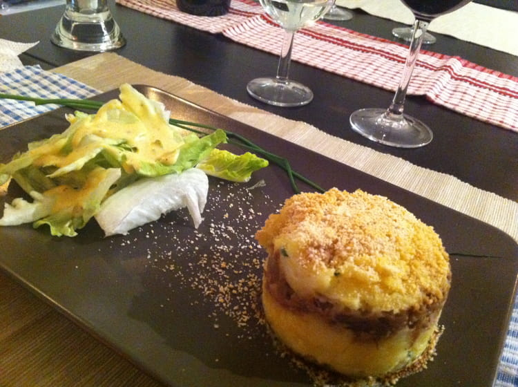 recette de parmentier de confit de canard au foie gras. Black Bedroom Furniture Sets. Home Design Ideas