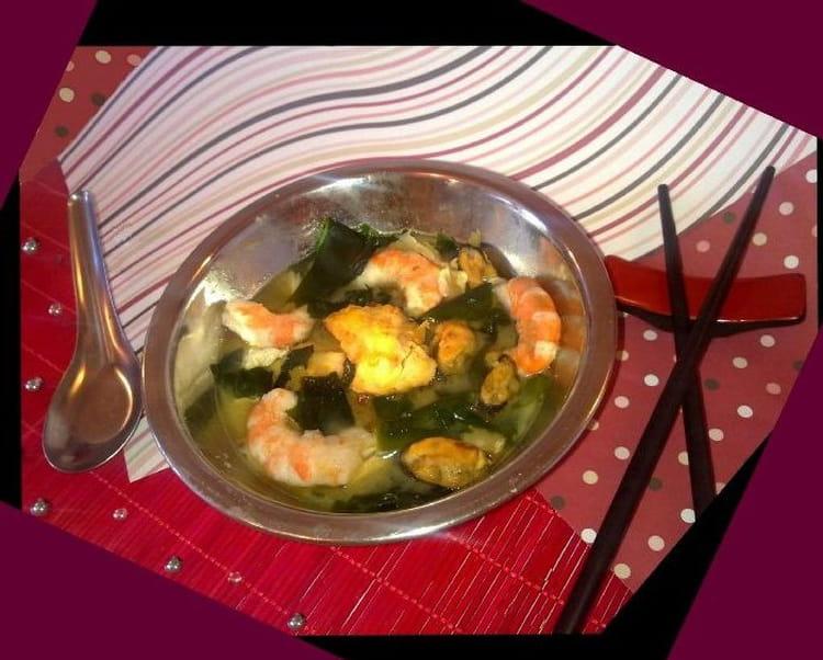 Recette de soupe miso royale de la mer la recette facile - Soupe miso ingredient ...