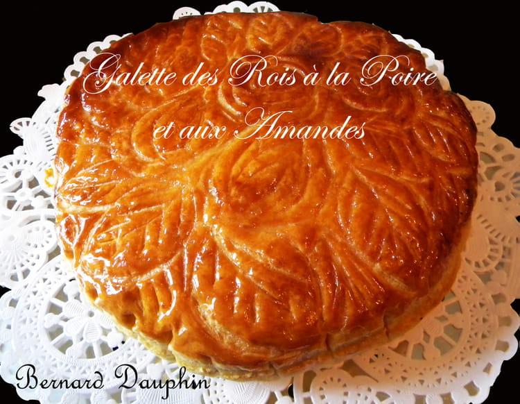 Recette de galette des rois aux poires et aux amandes la recette facile - Recette facile galette des rois ...