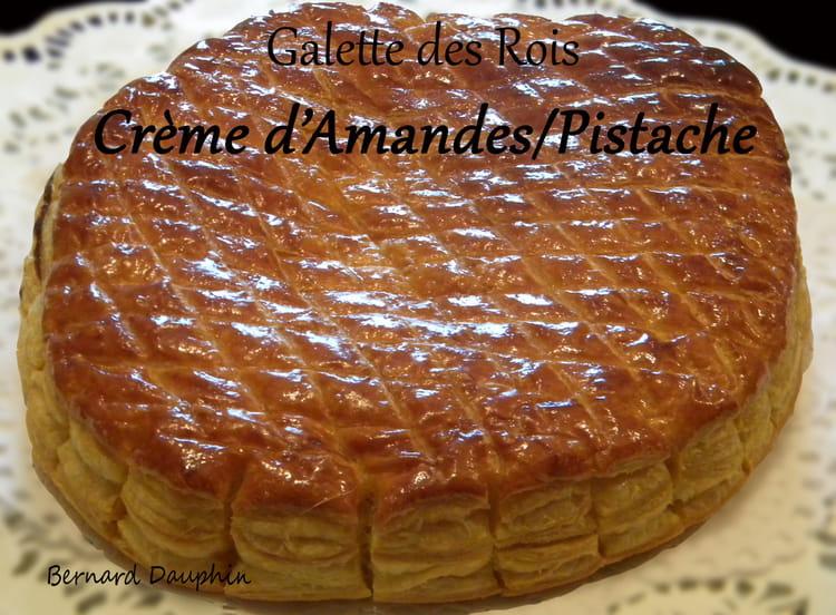 Recette de galette des rois amandes pistache cerises la recette facile - Recette facile galette des rois ...