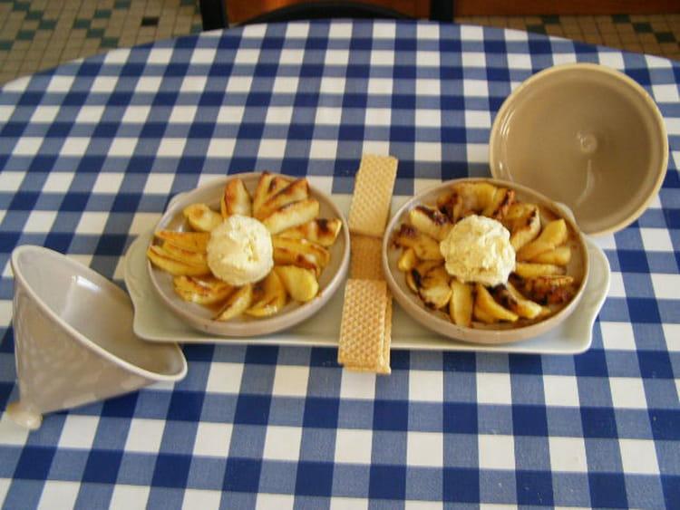 Recette de tajine de pommes avec glace la vanille la recette facile - Recette de glace facile ...