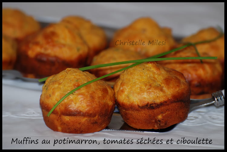Recette de muffins au potimarron tomates s ch es - Cuisiner les morilles sechees ...