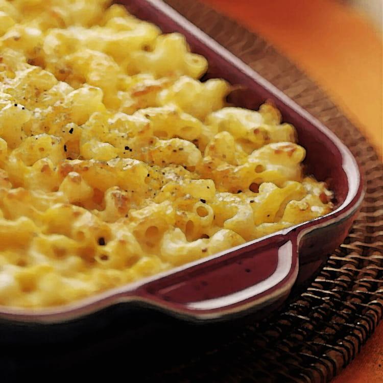 recette de gratin de macaroni aux champignons de paris la recette facile. Black Bedroom Furniture Sets. Home Design Ideas