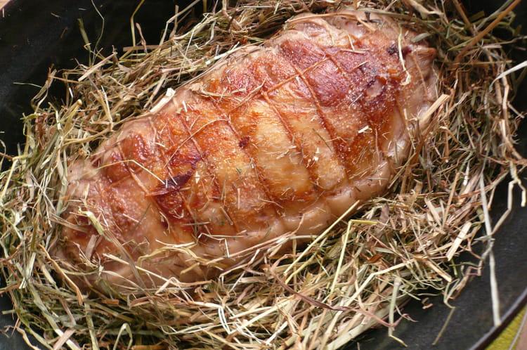 Recette epaule d 39 agneau au foin la recette facile - Cuisiner epaule d agneau ...