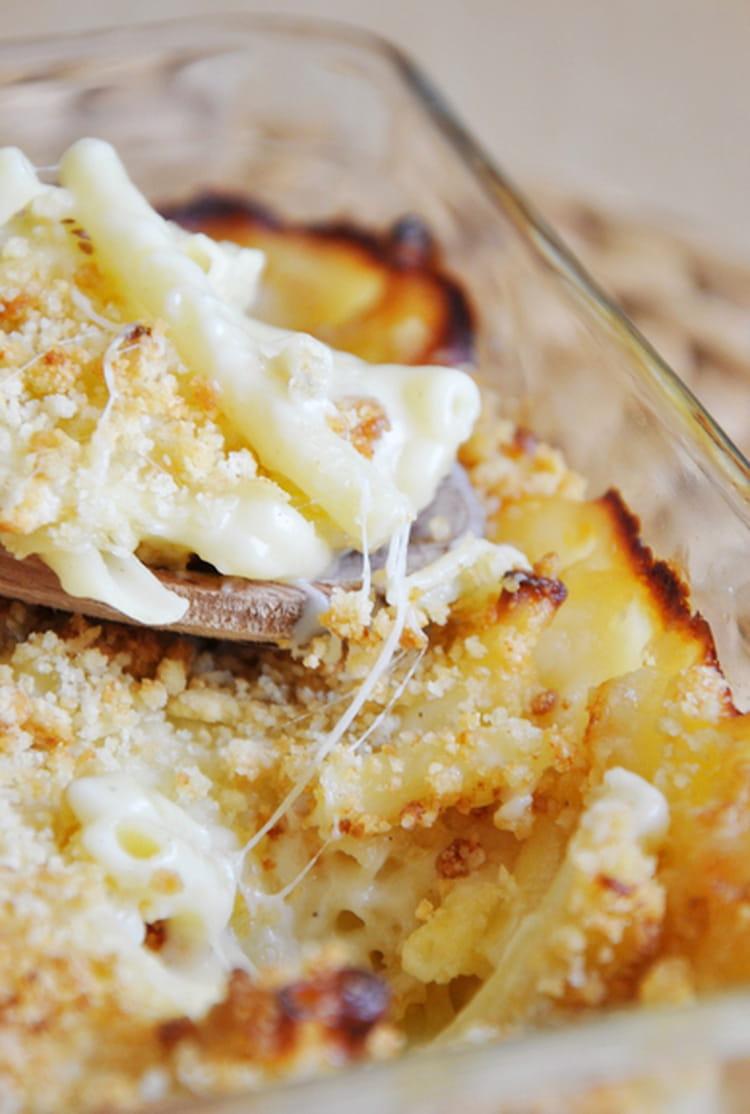recette de le gratin de macaronis de suzanne la recette facile. Black Bedroom Furniture Sets. Home Design Ideas