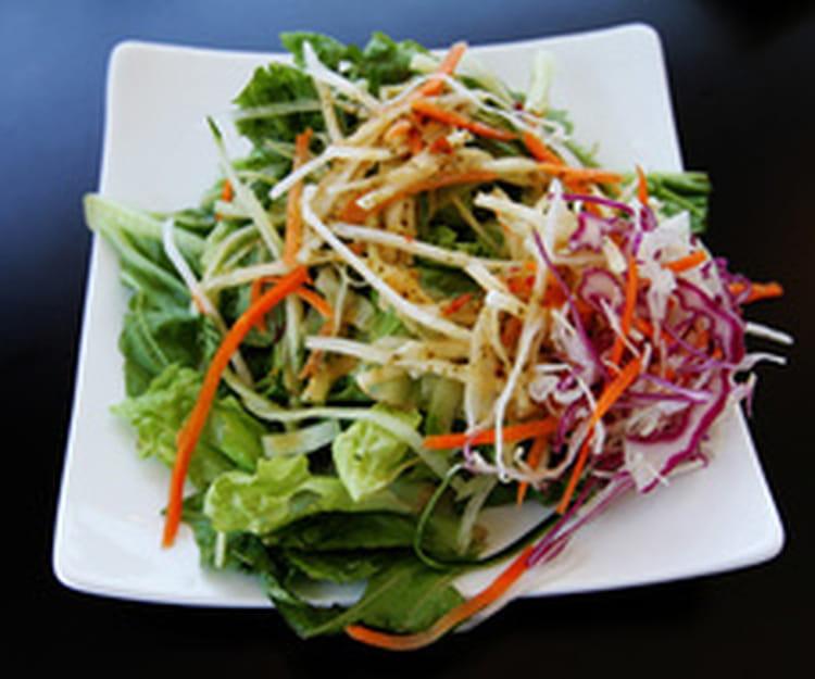 recette de salade asiatique la recette facile. Black Bedroom Furniture Sets. Home Design Ideas