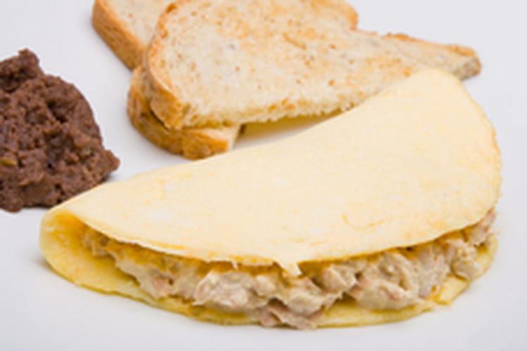 recette omelette au thon la recette facile. Black Bedroom Furniture Sets. Home Design Ideas