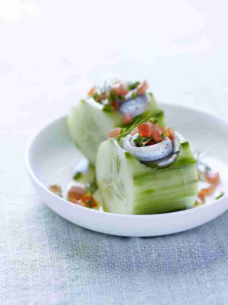 Recette de bouch es ap ritives aux sardines la recette - Cuisiner des filets de sardines fraiches ...